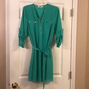 Green dress size Large